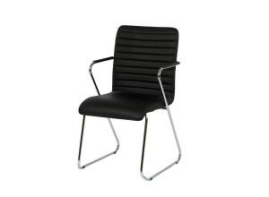 Стілець крісло офісне Ікс хром