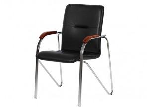 Стілець-кресло офісне Фостер хром